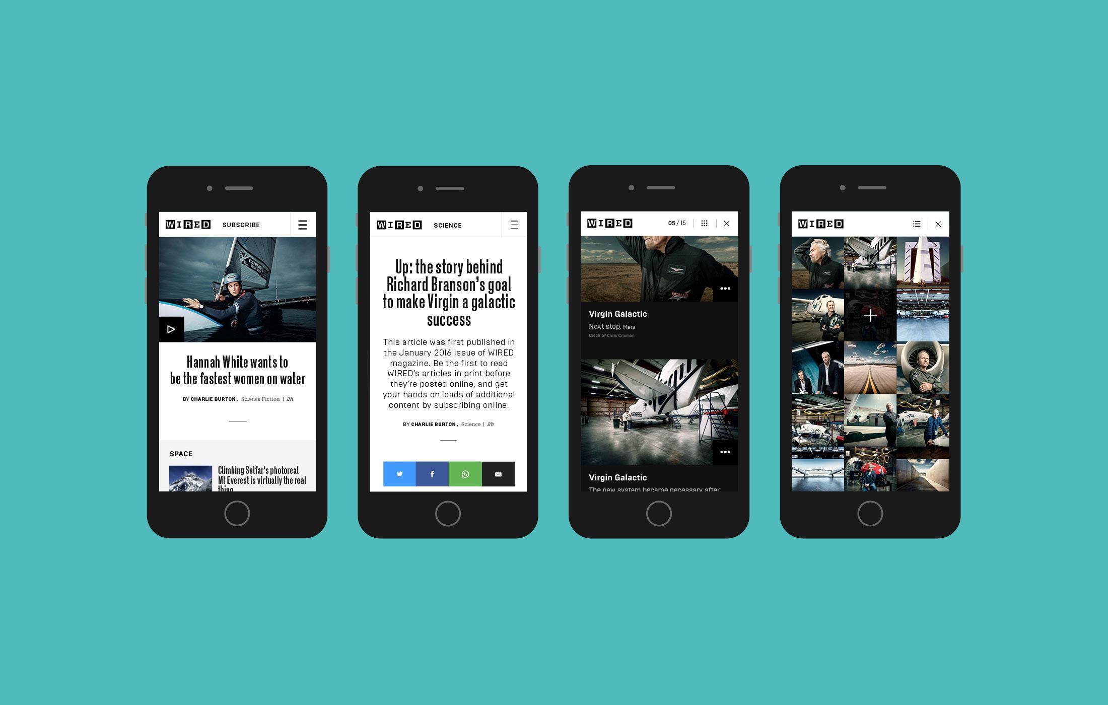 Sasha Annis - Portfolio - Wired UK Mobile First